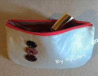 "Trousse ""Futura"" Arrondie PM By SyL'Art"