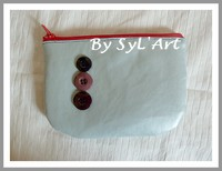 "Trousse ""Futura"" Arrondie GM By SyL'Art"