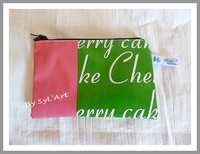 "Trousse ""Cherry Cake"" PM By SyL'Art"
