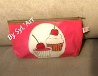 "Trousse ""Cup Cake"" By SyL'Art"