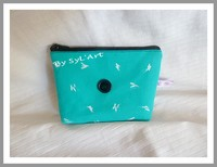"Trousse Vintage ""Plume"" PM By SyL'Art"