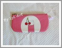 "Trousse Ecole ""Cherries"" By SyL'Art"